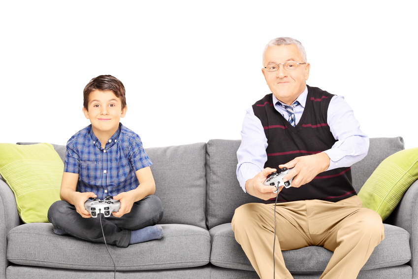 Article photo - playing video games