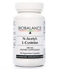 N-Acetyl-L-Cysteine 500mg 90 caps
