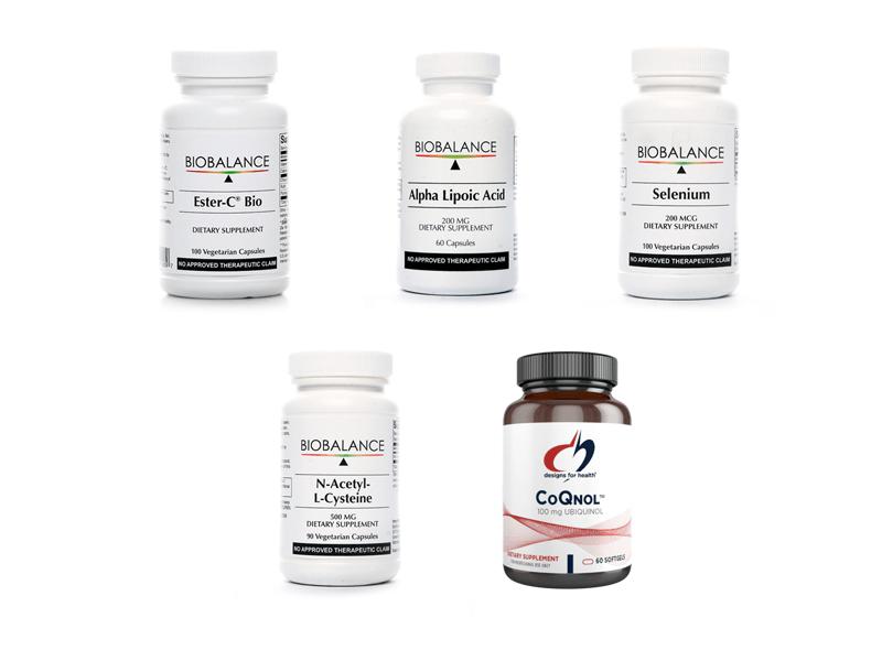 Antioxidants for Detox