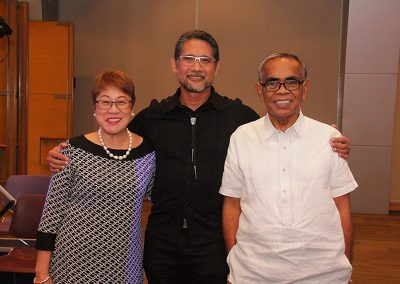 The genius, Dr. Ted Achacoso, and his mentors, Dr. Ester Bitanga, Neurologist, The Medical City Dr. Joven Cuanang, Neurologist, St. Luke's BGC and QC