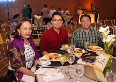 Wellness doctors Dr. Ma. Kathrina Gatchalian-Bundalian, Dr. Christian Flores and Dr. Marc Abat of The Medical City Center for Wellness and Aesthetics