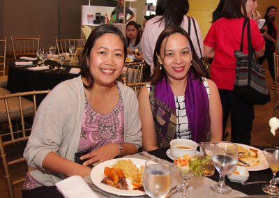 Wellness doctors Dr. Denise Lavilles and Dr. Ma. Kathrina Gatchalian-Bundalian