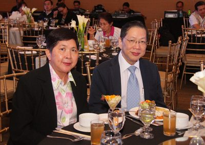 General Surgeons Dr. Florence Ong-Chan, OB-Gyn, and Dr. Alfonso Chan of the Chinese General Hospital