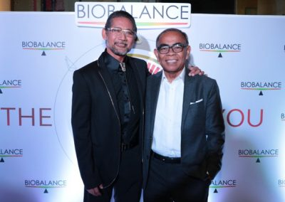 L-R: Dr. Ted Achacoso and Neurologist & Former Medical Director of St. Luke's Dr. Joven Cuanang