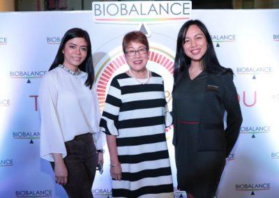 L-R: BioBalance Lee Victorino, Neurologist Dr. Ester Bitanga, and BioBalance Customer Development Specialist Jem Leyson
