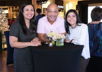 L-R BioBalance Operations Manager Marice Grace Talents, President of Philippine Seven Corporation Victor Paterno and BioBalance's Lee Victorino