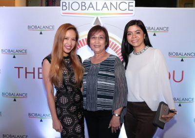 L-R: Dr. Anna Cristina Tuazon, Josefina Tuazon, and Lee Victorino