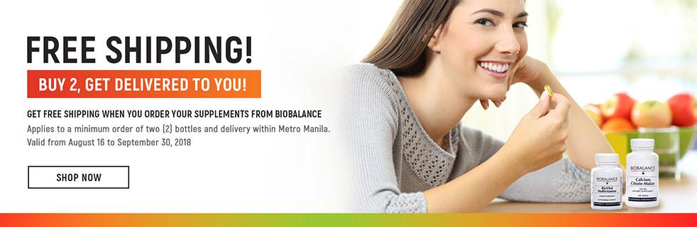 biobalance supplements Free Shipping