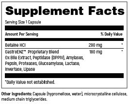 DFH_SKU_DIG090_Supplement_facts