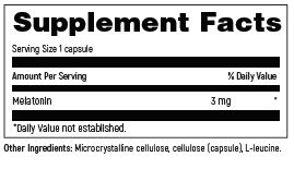 DFH_SKU_MEL060_Supplement_facts