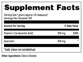 DFH_SKU_QUA100_Supplement_facts