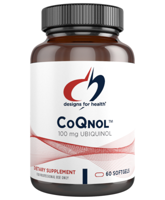 CoQnol Ubiquinol 100mg 60 softgels