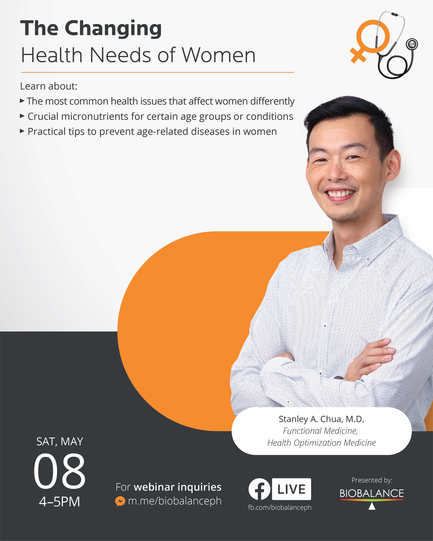 Webinar: The Changing Health Needs of Women